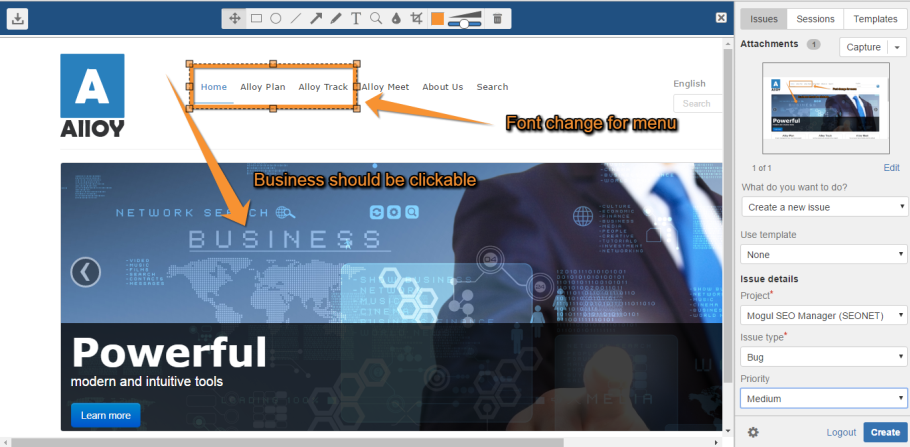 How to report bugs in Episerver solutions