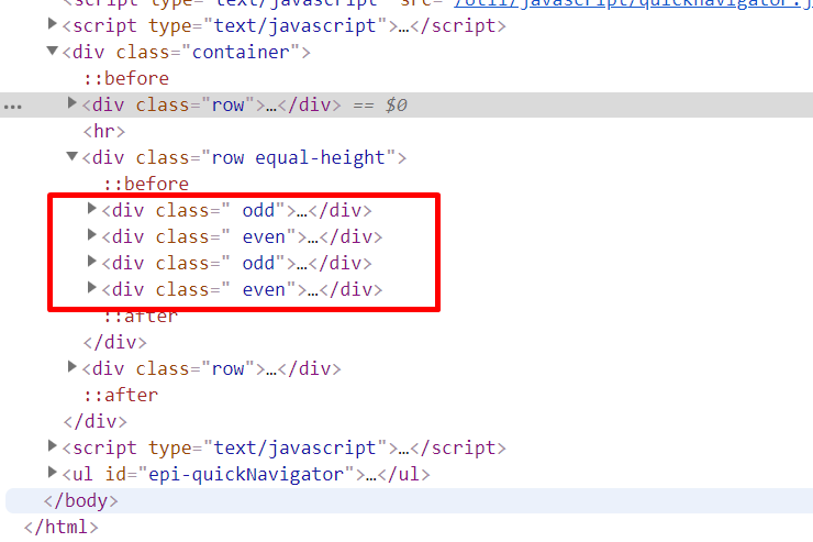 Super simple way to add an extra CSS class to content area items
